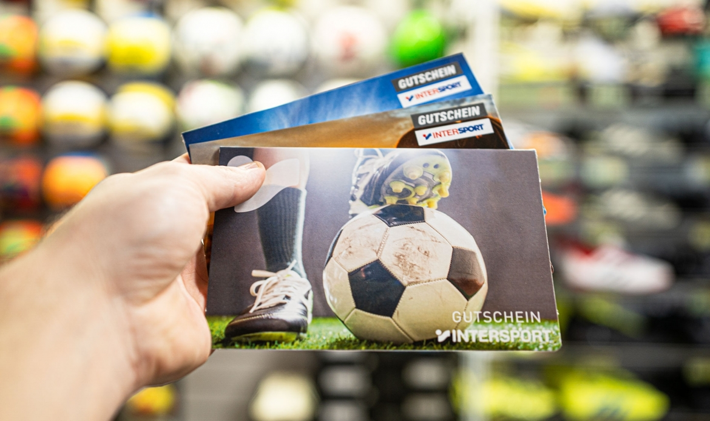 Immer eine gute Idee - Intersport Geschenkgutscheinkarte